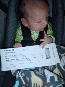 Baby Boarding Pass