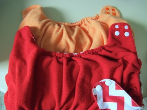 I would rather wear this - only super-soft fleece against baby's skin.