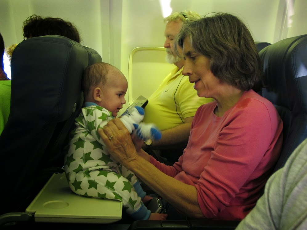 Flying With An Infant Dive For Science