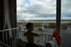 Crib with a view - Joey's digs in Maine