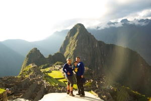 Made it - Machu Picchu!