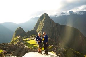 Made it - Machu Picchu!