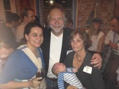 Lauren & Blake with her PhD Advisor Art & his wife Jenny