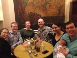 Scripps friends gather for dinner in the French Quarter