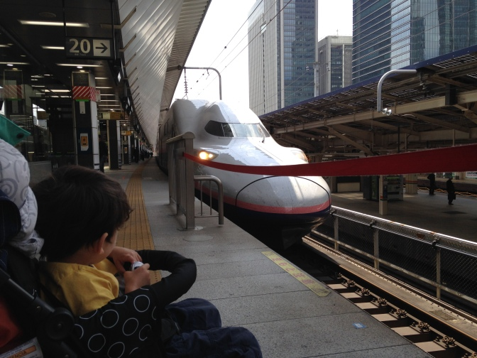 Japan Travel With Infant & Toddler