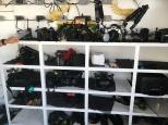 The camera shelf... very expensive.